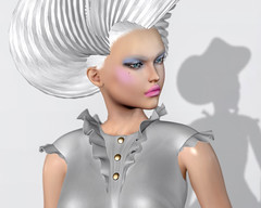 """Colors inspire words and words inspire colors."" (heidi.rewell) Tags: portrait zibska wicca'swardrobe maitreya fashion beauty entangledposes secondlife akakeruka"