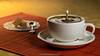 Le café est servi! (Yves Kéroack) Tags: goutte cup liquide ripples motion café coffee mouvement liquid onde lifestyle tasse drop