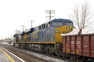 CXT 753 trailing