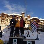 Men's GS - BC Winter Games 2018:  1- Liam Vanhooren; 2- Sam Fuller; 3- Oliver Young