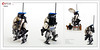 Raptor series: Police (Brixnspace) Tags: raptor walker frame powersuit suit lego moc toy biped space bot police 911 cop cops