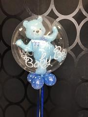 bubble ballon met beer erin