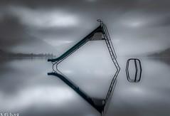 Réflection sur le lac d'Annecy (paul.porral) Tags: bnw fog water blackandwhite monochrome noiretblanc sky nature light bw nb winter lake flickr longexposure poselongue le ngc mist landscape waterscape france rhonealpes rhônealpes alps hautesavoie weather reflet miroir refletmiroir mirror groupenuagesetciel