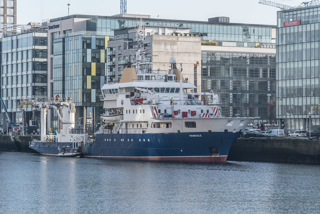 ILV GRANUAILE VISITS DUBLIN [11 JANUARY 2018]-135370