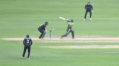 Bowled! (Ian@NZFlickr) Tags: international match university oval 300 meters cheap seat otago nz cricket dunedin