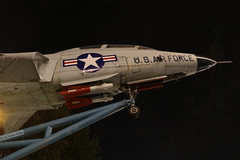 U.S. Air Force F-101 Voodoo (Canadian Pacific) Tags: buffalo newyork usa us unitedstates america american downtown city centre center night photo shot image military museum navy 2017aimg3658 f101 voodoo fighter jet usaf earthnight