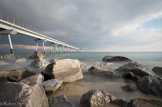 Larga exposicion en el Pont del Petroli en Badalona! Una tarde de experimentos y pruebas