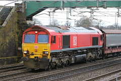 66001 @ Chorlton Lane Nr Crewe (uksean13) Tags: 66001 dbs dbschenker chorltonlane crewe canon 760d diesel