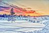 Marahällabron XV (johan.bergenstrahle) Tags: 2018 umeälv bridge bro finepicsse hdr januari january landscape landskap marahällabron natur river sverige sweden umeriver vännäs älv