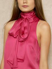 Ralph Lauren n°628 - Detail (Blouse et Foulard 2) Tags: blouse foulard ralph lauren silk scarf leather boots