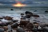 Quiet End to the Day (Darren Schiller) Tags: hallettcove evening rocks adelaide sea ocean shore beach coast southaustralia gulfstvincent sunset clouds