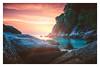 Elusive sunset (Alex E. Milkis) Tags: sunset thiland kohphangan explore adventure sea travel d810 rocks shore amazing beautiful beach rays fade wide best postprocess colors cocohut