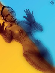 Daily #Art - Day 01-29-18 (hinxlinx) Tags: robot machine ai gynoid maschinenmensch maria ava illustration digitalart robotic scifiart dailyart android exmachina 軒 instaart machineman elynx hinxlinx artofinstagram ericlynxlin