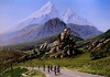 Bicycle race in the Alps (lucianomandolina) Tags: italien europa alpen italy europe alps italia alpi nervia berge montagne mountains rennen race rennrad bicycle