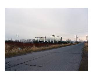 Superior gasworks, alternate view, color film