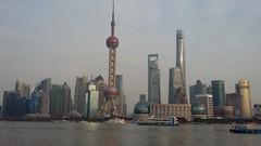 Quartier d'affaires Lujiazui de Pudong à Shanghai (photopoésie) Tags: shanghai pudong