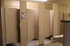 Benson Restroom Stalls (UWW University Housing) Tags: uww uwwhitewater universityhousing residencehall restroom renovations bensonhall