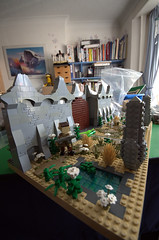 Hoggles Gate - The entrance to the Labyrinth (kaitain) Tags: lego labyrinth jimhenson miniland