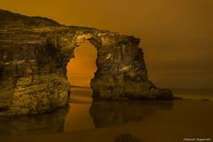Playa de las Catedrales III (enogueroles) Tags: eduardo nogueroles playa catedrales lugo galicia españa nocturna