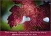 Two Hearts - Rumi (Steve Corey) Tags: rumi twohearts fallleaves vineyard valentinesday heart love