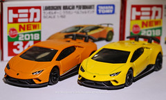 Tomica 34 (2018), Lamborghini Huracan Performante (Daryl Chapman Photography) Tags: tomy tomica lamborghini huracan performante hongkong china sar canon 5d mkiii 100mm macro f28 34 tomica34 diecast