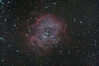 The Rosette nebula in Monoceros (Frankz) Tags: monoceros milkyway rosettenebula rosette unicorn ngc2244