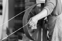 Woolmaker (J Harwood Images) Tags: 2018 d750 mexico nikon hands weaving crafts wool