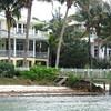 Sarasota Fences 1 (soniaadammurray - Off) Tags: digitalphotography sea beach seaweed steps dock fences hff grass bushes trees flowers architecture lights balconies water boating sarasota florida usa sky