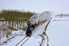 Gr625 177 (Paolo Brocchetti) Tags: paolobrocchetti mede gr625 vapore nikon ferrovia treno rail bahn centoporte locomotiva d810 24120 snow