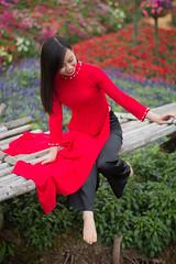 6447 (mapleal_2000) Tags: vietnam woman beautifulwoman aodai