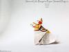 Second Life Burger's Paper Seated Dog v.2 - Barth Dunkan. (Magic Fingaz) Tags: anjing barthdunkan chien chó dog gremlins hond hund köpek monster origami perro pies пас пес собака หมา 개 犬 狗