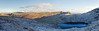 Langdales in Snow 02 (Ice Globe) Tags: langdale langdales valley lake district cumbria bow fell mountain mountains snow snowy icy white winter blue sky panorama wintry weather nikon d5100 35mm rossett pike stickle angle tarn helvellyn