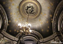 Saloon Of The Moon (Little Queen Gaou) Tags: opera opéra garnier architecture gothic old peintures scupltures ancestral ancien stairs escaliers paris castle château photography photographie inspiration victorian versailles roof paintings statues chandeliers lustres
