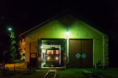 2018-01 - CZ - Osoblaha by nohannes - ČD 705 913 after bringing the last train of the day to the terminus of this Silesian narrow gauge line