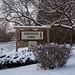Robinson Park Sign - Winter in Sandstone, Minnesota