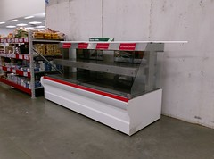 Old 'rotary chicken' case (l_dawg2000) Tags: 2017remodel apparel café desotocounty electronics food gasstation meats mississippi ms pharmacy photocenter remodel samsclub southaven tires walmart wholesaleclub unitedstates usa