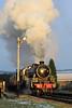 45212 (North Ports) Tags: 45212 east lancashire railway rawtenstall black 5 steam locomotive heritage lostock hall winter sun