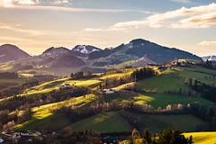 Mostviertel (CHCaptures) Tags: landschaft rehau a7ii bluesky dawn geeen greenhills hills ilce7ii landscape mostviertel sel2470z sony sunset variotessartfe42470 waidhofenypps waidhofenanderybbs niederösterreich österreich at