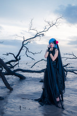 Remilia Scarlet (Forbidden Garden) (bdrc) Tags: 30mm apsc nd alpha alphauniverse asdgraphy athabasca banting beach cosplay dead evening exposure f28 female filter forbidden forest girl gothic kelanang klang lady long longexposure malaysia nature outdoor pantai people portrait prime project remilia salt sand scarlet sea sigma single smooth solo sony sonyalpha sonyimages sunset touhou tree vampire water wideangle wood flash strobe godox ad600 reflector
