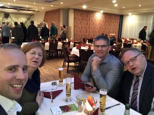 Weihnachtsfeier des SPD-Ortsvereins Westerstede. Hat Spaß gemacht!