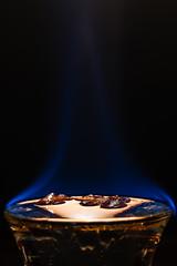 65007832-LR-3000 (the.digitaleye) Tags: flame sambuca liqueur macro glas fire coffee bean happy mondays canon nfd 50mm f35