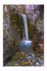 Falling waters (Krasne oci) Tags: waterfall water washington mountains nature mountrainier wilderness rocks longexposure evabartos artphotography photoart