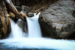 En el Rio Raquel (Javier A. Villagra) Tags: cascada rioraquel agua salto arroyo patagonia argentina