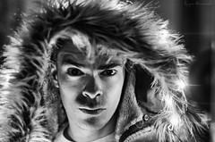Selfie B&W (hdezrayco) Tags: selfie retrato portrait selfportrait leds lights bn bw blancoynegro blackandwhite man lighting darkness contrast
