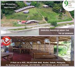 9 Huts On a Hill (9 Huts Kudat) Tags: malaysia kudat sabah tip borneo resort beach eco friendly