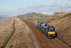 Nuclear Thinking (Richie B.) Tags: 68032 68005 drs direct rail services seascale cumbria vossloh stadler class 68 pfa