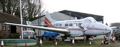 G-AREA DH104 Dove 6 (kitmasterbloke) Tags: dehaviland museum londoncolney hertfordshire uk aviation wreck relic wr civil airliner jet