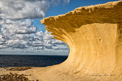 Limestone weathering (Ant Sacco) Tags: limestone erosion weathering ngc gozo malta