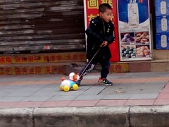 IMG_20180224_141148 (Taking the dog for a walk) (jase_tv) Tags: children streetphotography toys