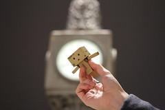 IMG_1665 (SethDanbo) Tags: danbo danboard danbox cardboard cardbox danbolove robot actionfigure action figure night tiny world little
